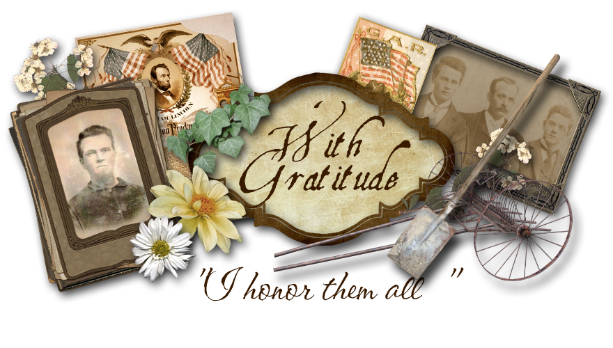 With Gratitude...I honor them all