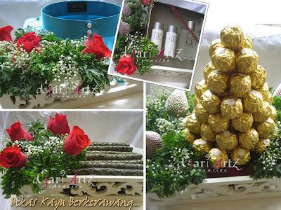 DJari Artz Wedding   Catering -We Plan Your Special Day..... because you  deserve the best!  KOLEKSI HANTARAN-Bekas Kayu Berkerawang 9ba1a5d373