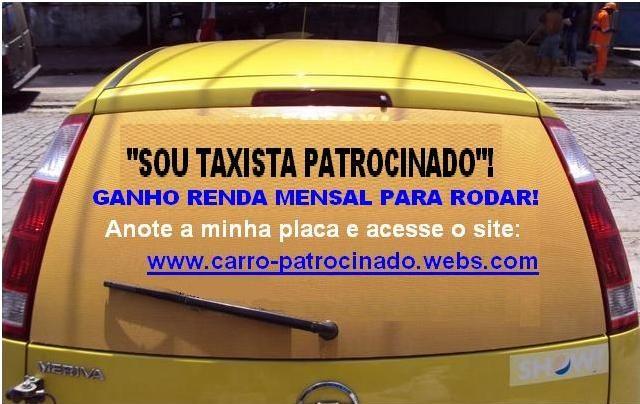 Taxista Patrocinado