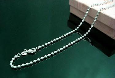 Silver 2mm ballchain
