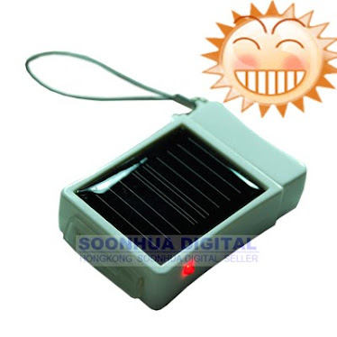 Lighter solar power charger battery for iphone and ipod