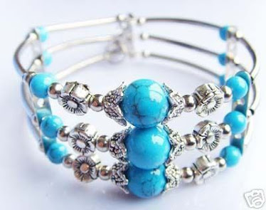 Triple marble bracelet