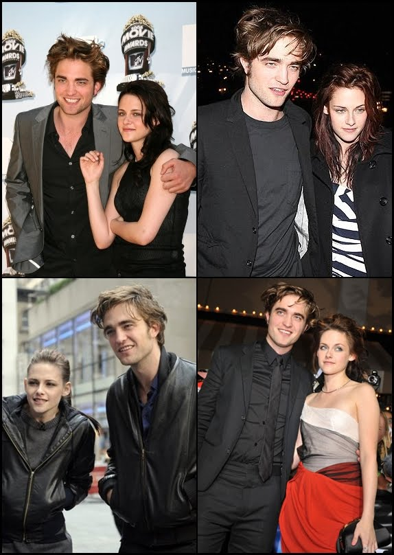 kristen stewart and robert pattinson. with Robert Pattinson and
