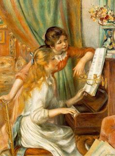 Raparigas ao Piano