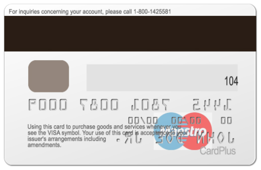 how to read magnetic stripe card