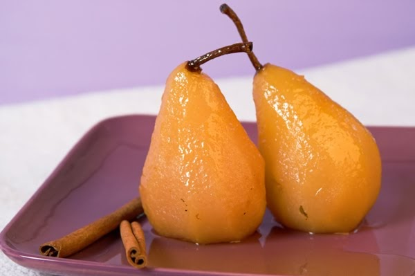 Paleo Brothers: Orange & star-anise poached pears
