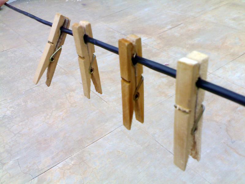 yedde wooden cloth clips better over plastic ones