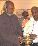 "Balan Nambiar inaugurating exhibition of cartoons ""Strokes and Slashes"""