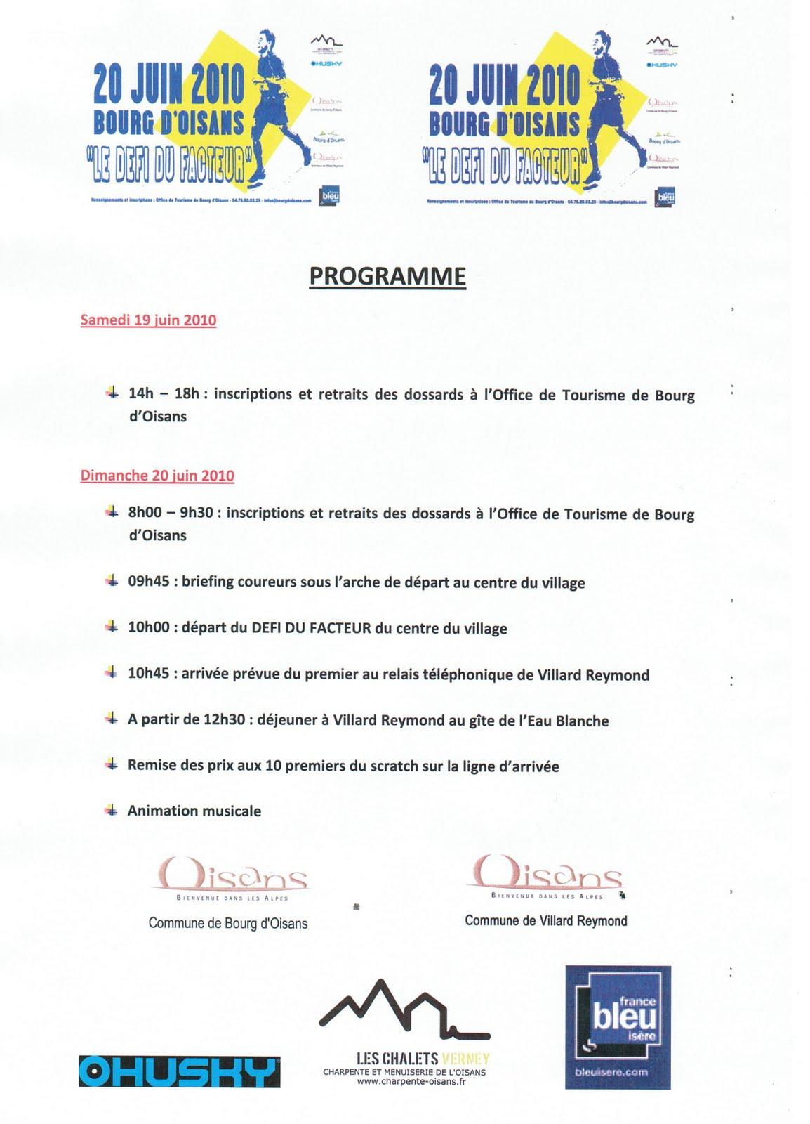 News de l 39 office de tourisme bourg d 39 oisans mai 2010 - Bourg d oisans office tourisme ...