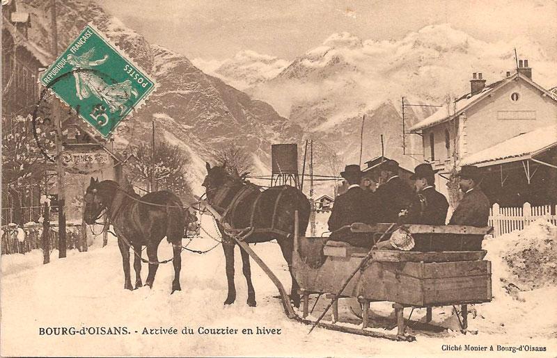 News de l 39 office de tourisme bourg d 39 oisans exposition de cartes postales anciennes - Office tourisme bourg d oisans ...