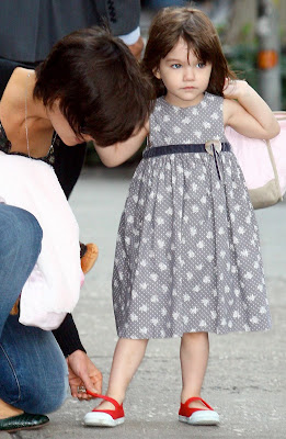suri cruise NY, September 2008