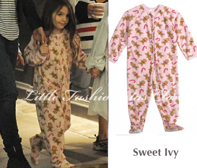 suri cruise gingerbread pink sleeper footed pajamas sweet ivy nordstrom easy way get pregnant   #1 Fastest Solution For Getting Pregnant In The ...