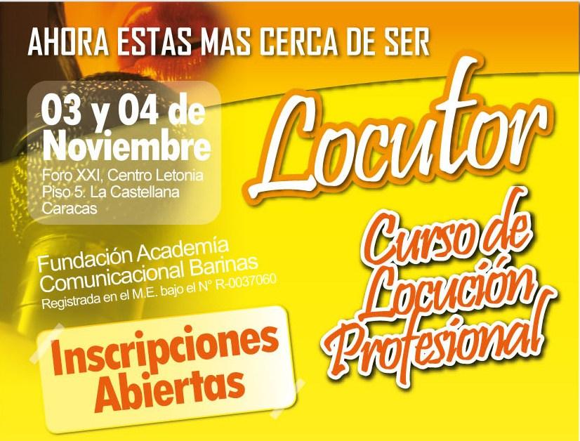 Cursos de Locución en Venezuela