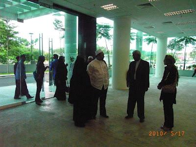 Bersama Dato Alias dari Hotel D Palma