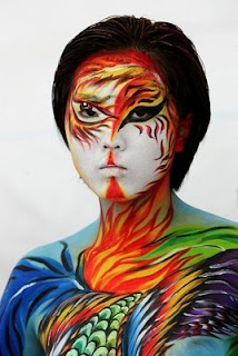 style body painting women