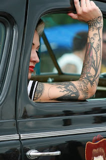 bikine girls with tattoo