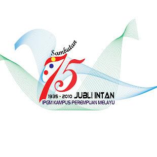 Logo 75 Tahun Jubli Intan