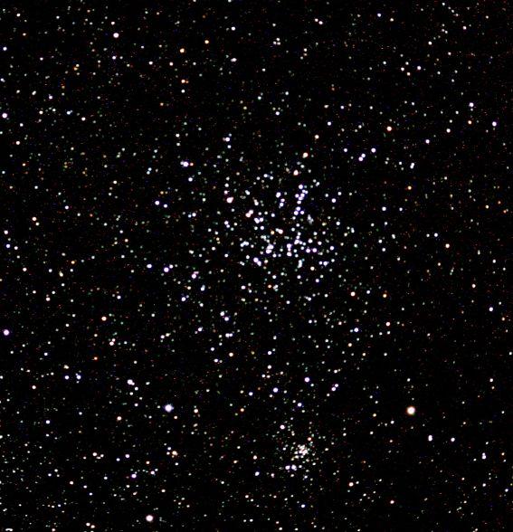 Cúmulo M38 en Auriga