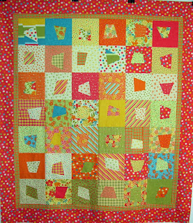 pieceful kwilter: wonky squares tutorial : wonky quilt - Adamdwight.com