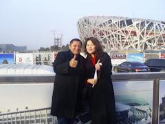 JOSÉ ANTONIO VISITA O LOCAL ONDE ACONTECERÁ AS OLÍPIADAS DA CHINA.