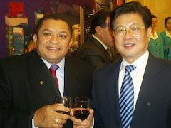 JOSÉ ANTONIO EM VISITA NA CHINA JANEIRO DE 2008 JUNTAMENTE COM O PRESIDENTE DA FED. DOS SINDICATOS