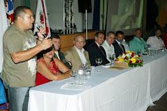 José Antonio da Força Sindical participa da posse dos servidores publicos em Americana.