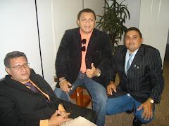ISAIDO DAMASCENO(DIDI DE RUSSAS) JOSE ANTONIO E JOSE RICARDO LEITE EM BRASÍLIA NO MINISTÉRIO.