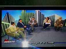 DEBATE SOBRE CRISE E EMPREGO REUNE TRABALHADORES ECONOMISTAS, POLITICOS , TEC E TRABALHADORES.