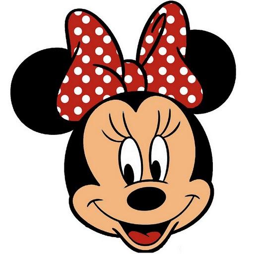 Caritas de Minnie Mouse para colorear - Imagui