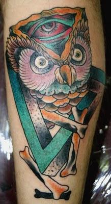 Owl Tattoo Designs On Hand Tattoo Pics