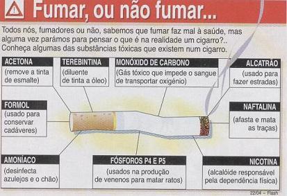 Lançou a insônia de fumaças começou