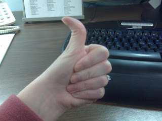 The thumb myth