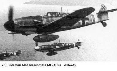 Messerschmitts ME-109s | Caça