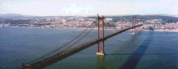 Ponte 25 de Abril - Une Lisboa a Almada