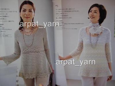 Japaneses%2Belegance%2Bstylish%2Bpattern%2Bbook%2B%252319%2B4 Trendy Knitting Patterns