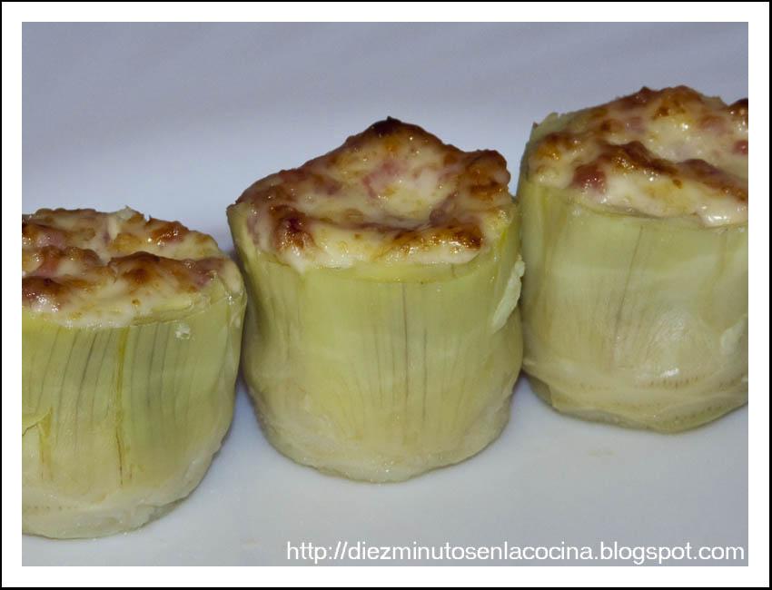 Como Cocinar Alcachofas De Bote | Diez Minutos En La Cocina Corazones De Alcachofa Rellenos De