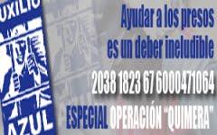 Apoya a los presos Nacionales.