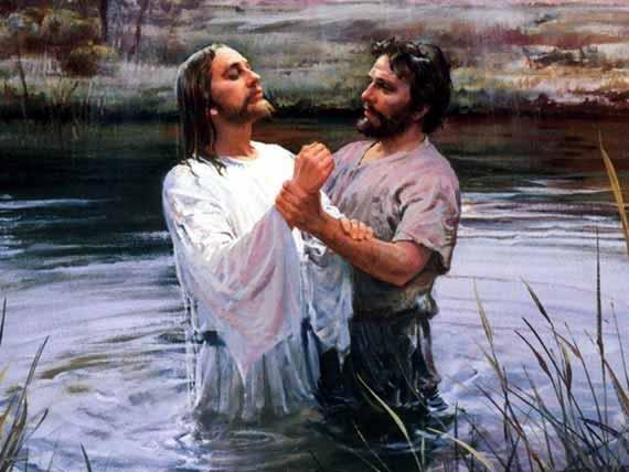 Jesus's Baptism.