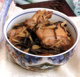 Homecook ideas: Chicken With Ginger & Wine Recipe