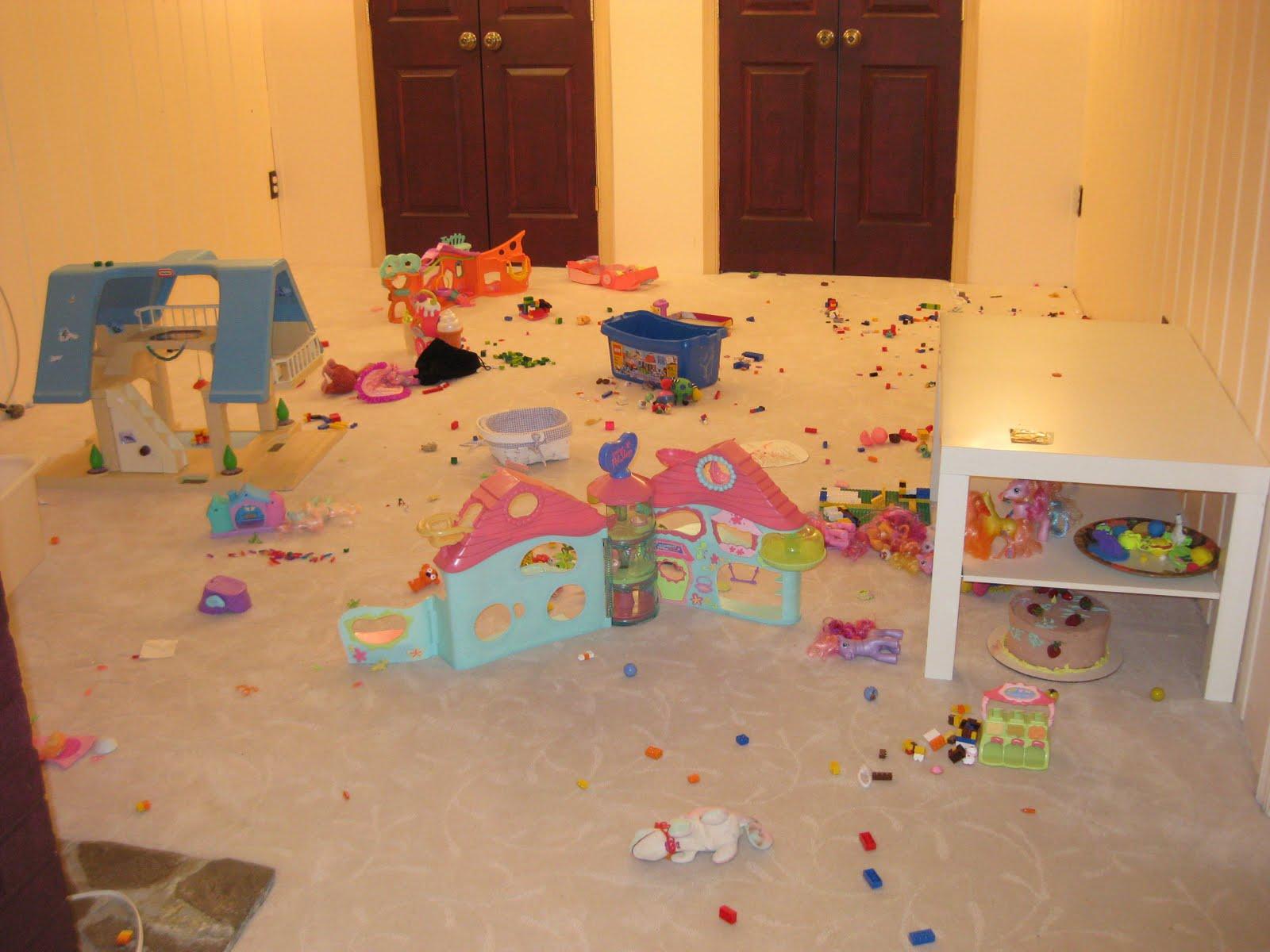 Geek Girl Bedroom Empty basement bedroom Geek Girl Bedroom
