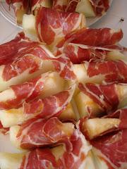 Melon & ham - Spain