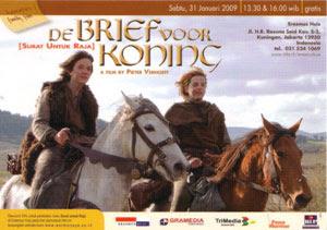 Piak dan Tiuri di salah satu adegan dalam 'De brief voor de koning'.