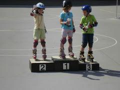 Sara 2ª en patinaje