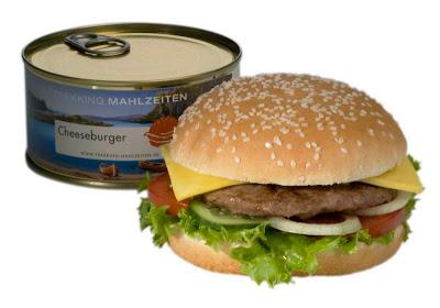 Cheeseburger en boîte