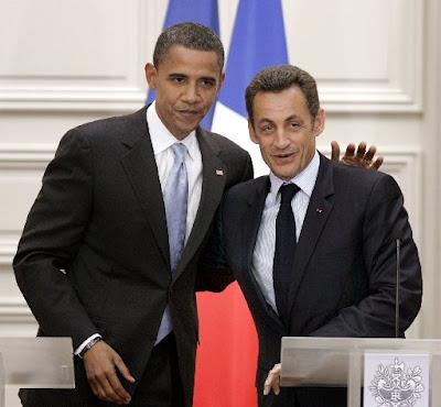 Obama et Sarkozy