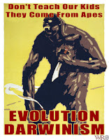 Evolution ape