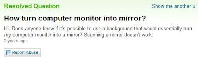 Scanner miroir