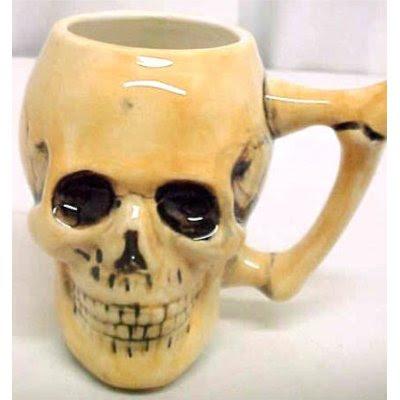 Tasse crâne