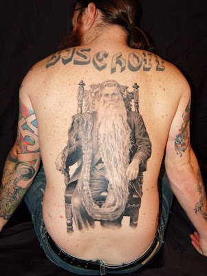 Tatouage barbe