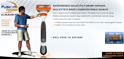 Gillette Fusion Gamer